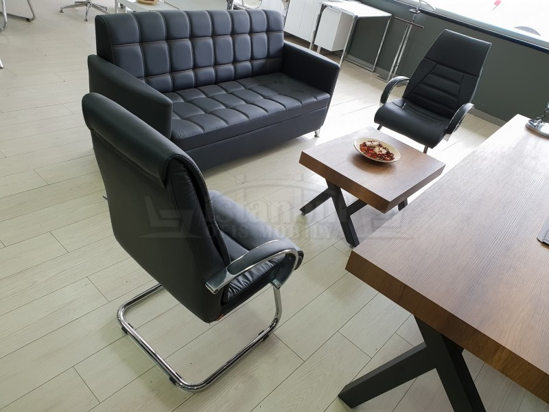 Istanbul Office Executive Team Table First Class - Baroque Black