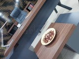 Istanbul Office Executive Office Canberra - Anthracite Walnut
