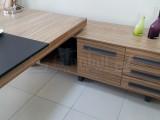 First Class Executive Board Shelf Cabinet Anthracite Samba