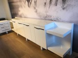 White Executive Office Desk S Class Large