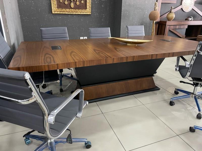 Wood Meeting Table